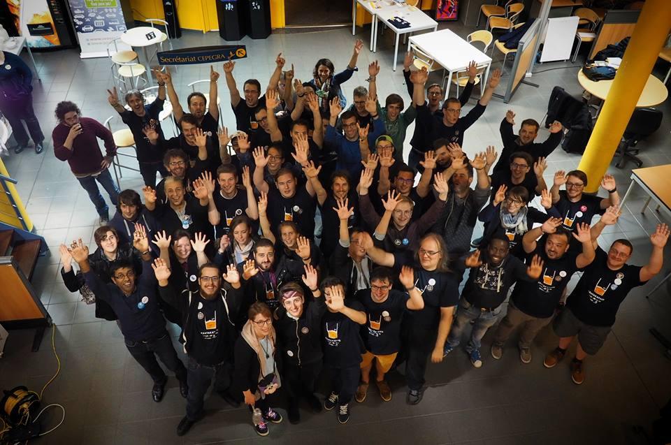Tous les participants au Datakathon 2017